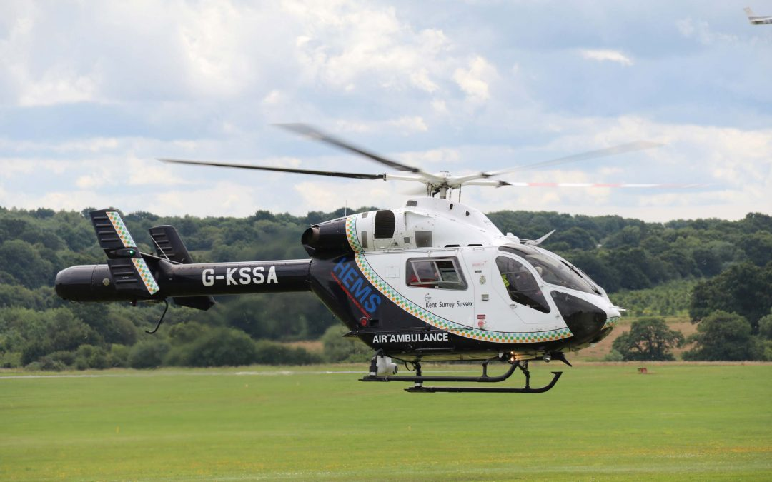 Support for the local Air Ambulance Service