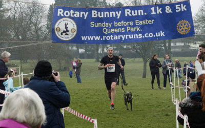 A record tumbles at The Bunny Fun Run