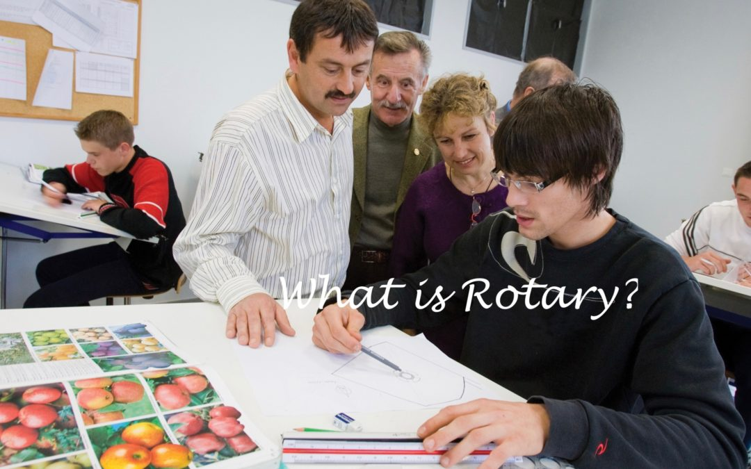 Volunteering Work with Rotary Changes Lives!