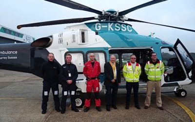 Further Support for Air Ambulance Service