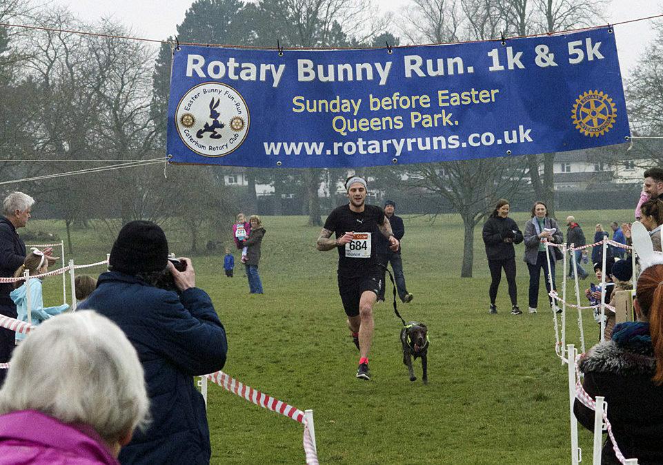A record tumbles at The Bunny Fun Run