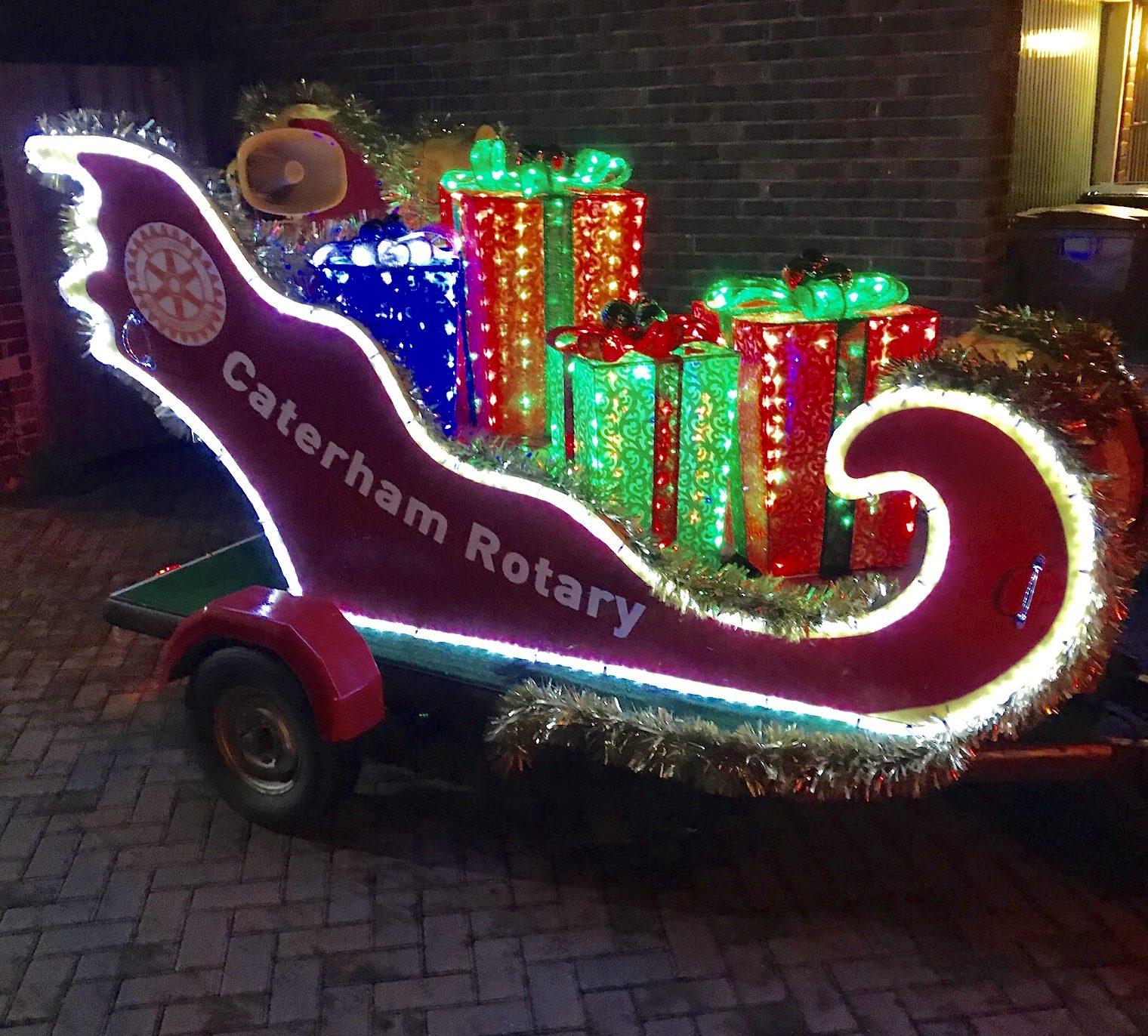 Santa's Tour of Caterham,Warlingham &  Whyteleafe