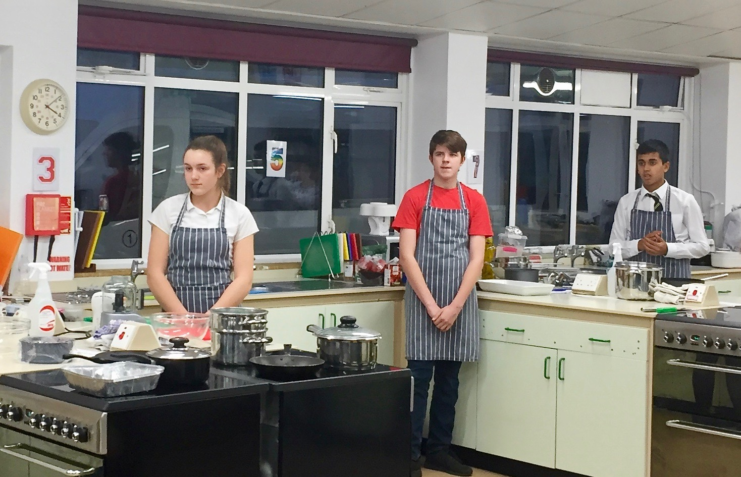 Local Students Cook Up a Storm